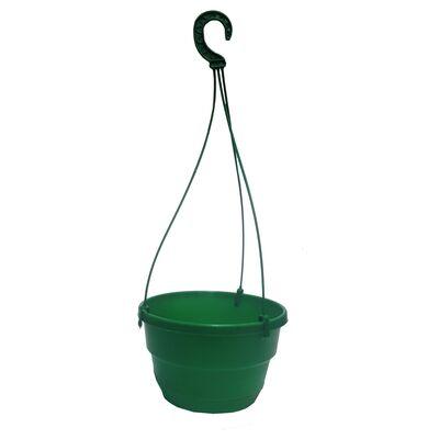 Горшок для петунии зелёный