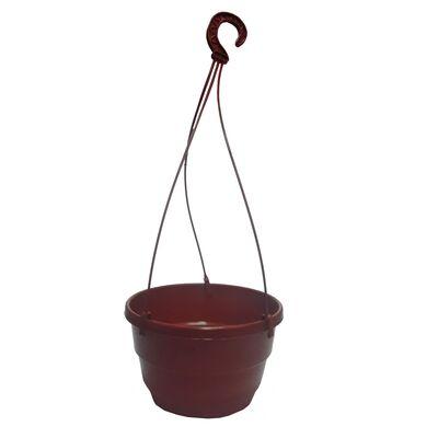 Горшок для петунии коричневый