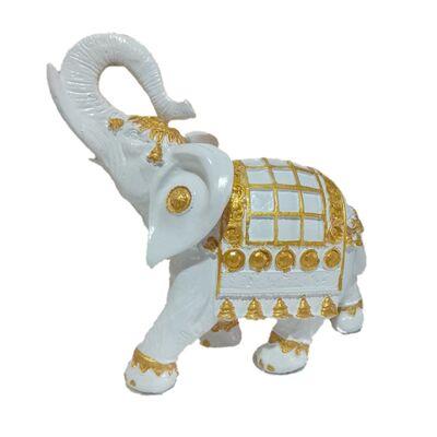 Статуэтка слон индийский белый