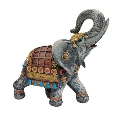 Статуэтка слон индийский серый